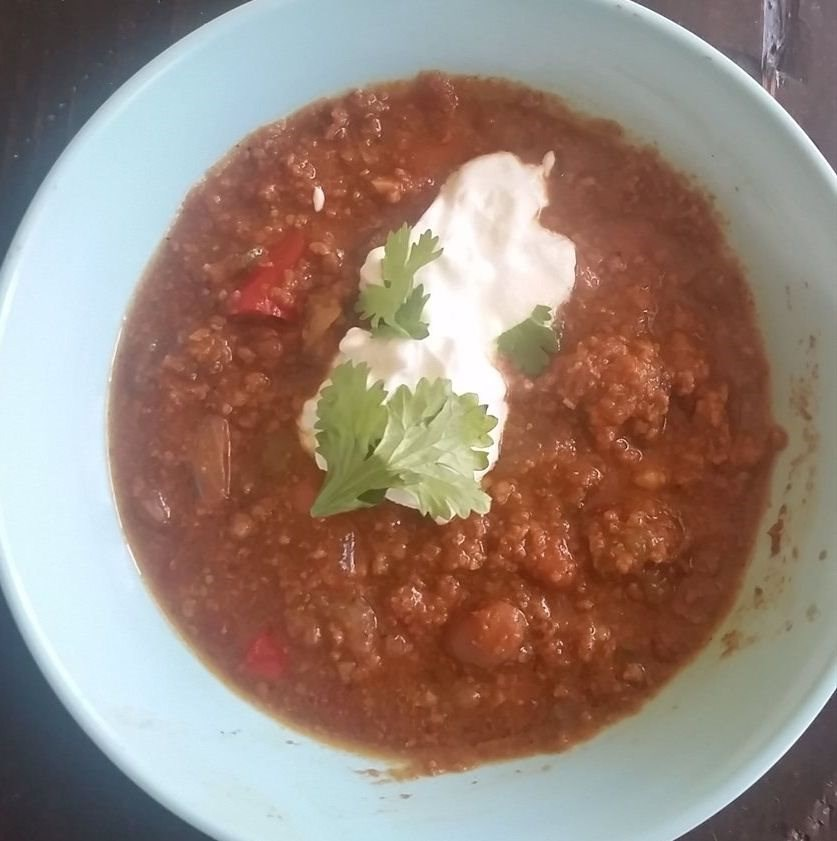 Coach Chrissy's Pumpkin Chili
