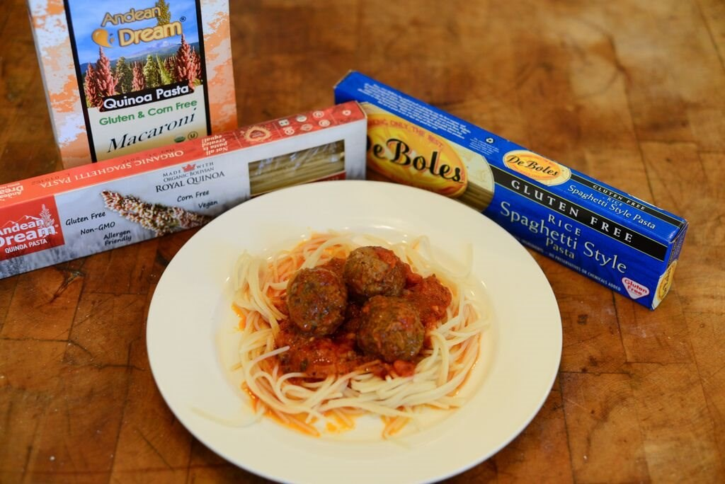 Simple Spaghetti and Meatballs