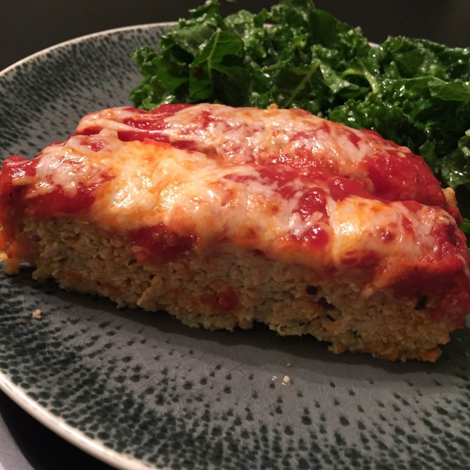 Chicken Parmesan Meatloaf