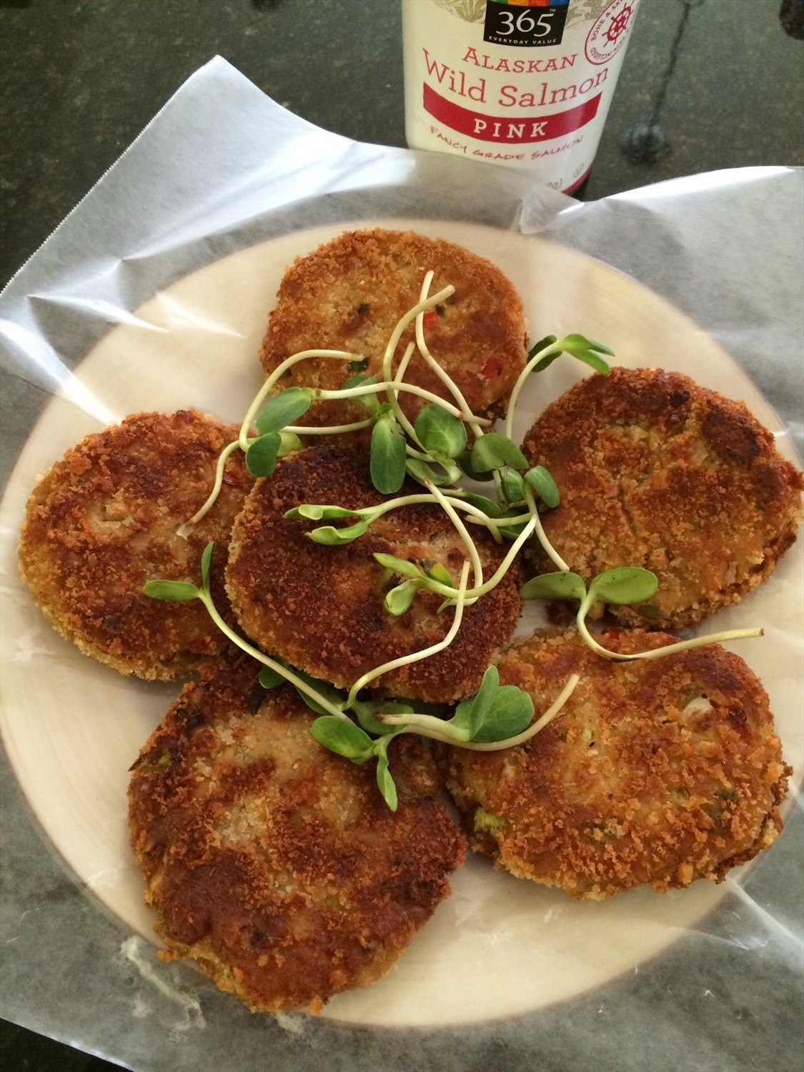 Wild-Caught Salmon Cakes