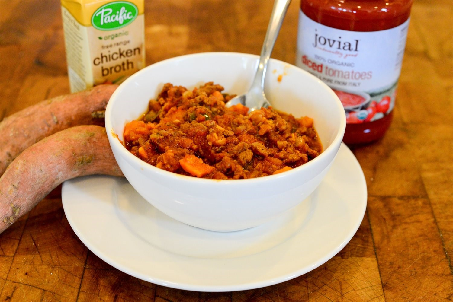 Turkey and Sweet Potato Chili