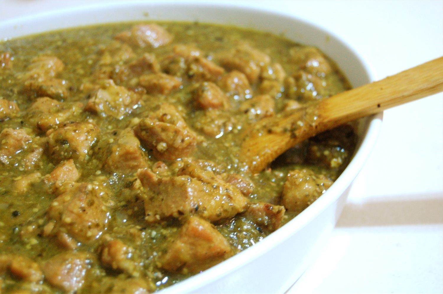 The BEST Pork Chili Verde