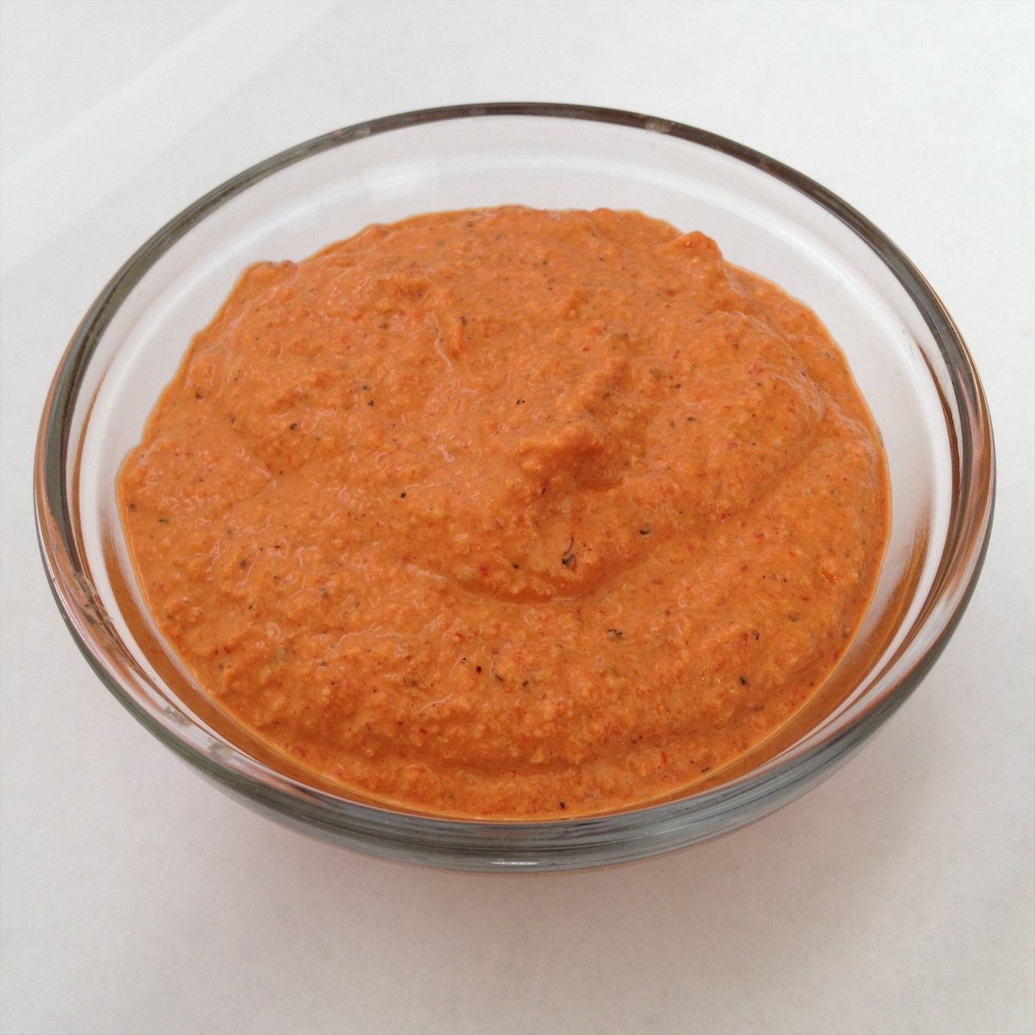 Simple Roasted Red Pepper Dip