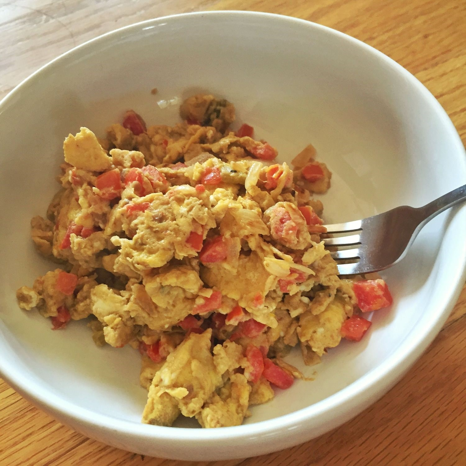 Cumin Egg Scramble