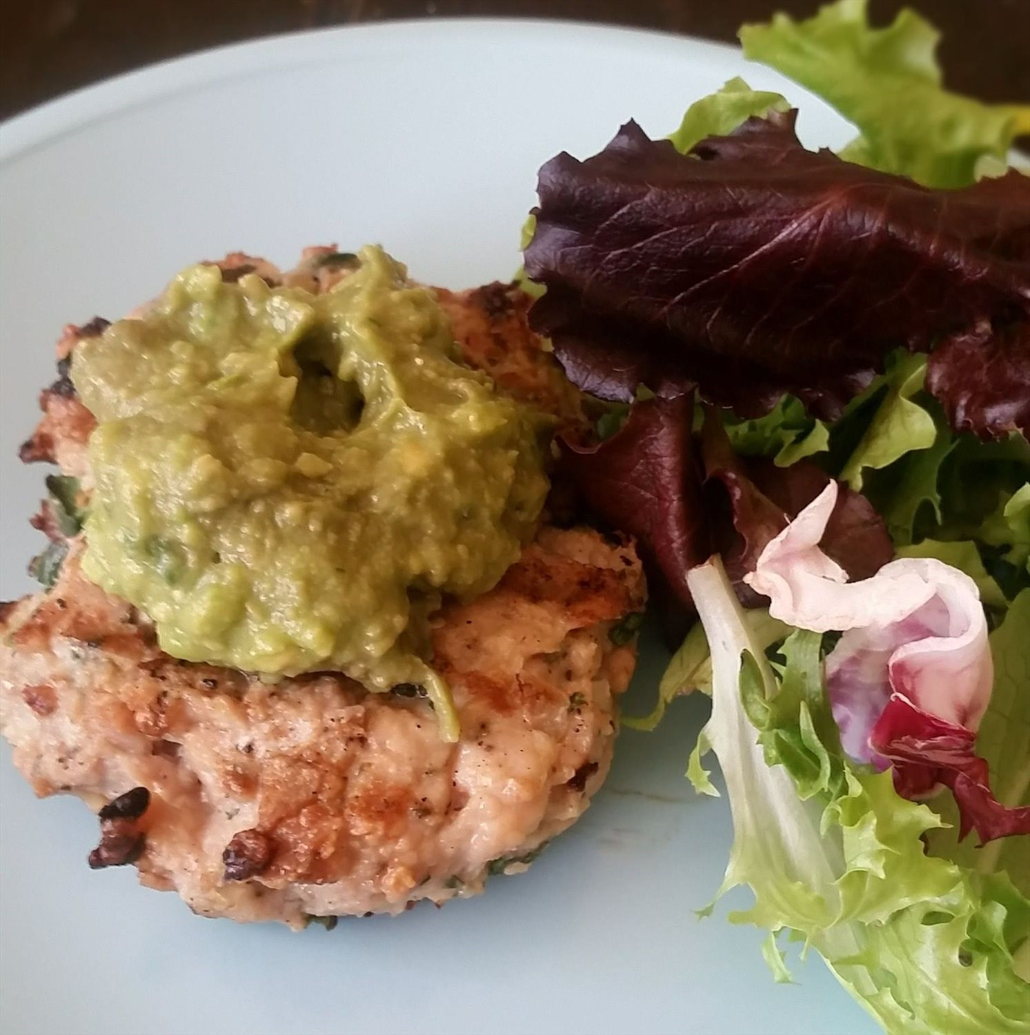 Chicken Guacamole Burger