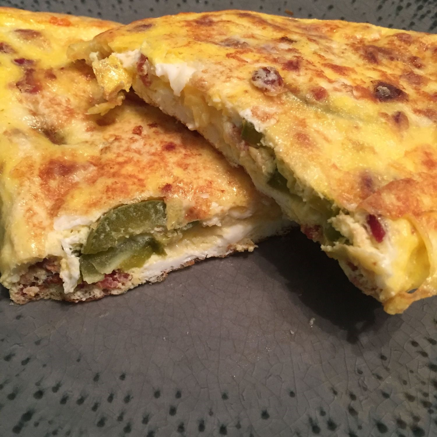 Jalapeno Bacon Omelet