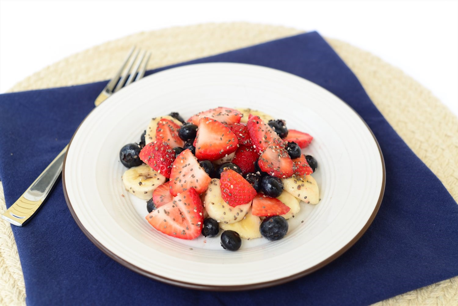 Banana Berry Salad