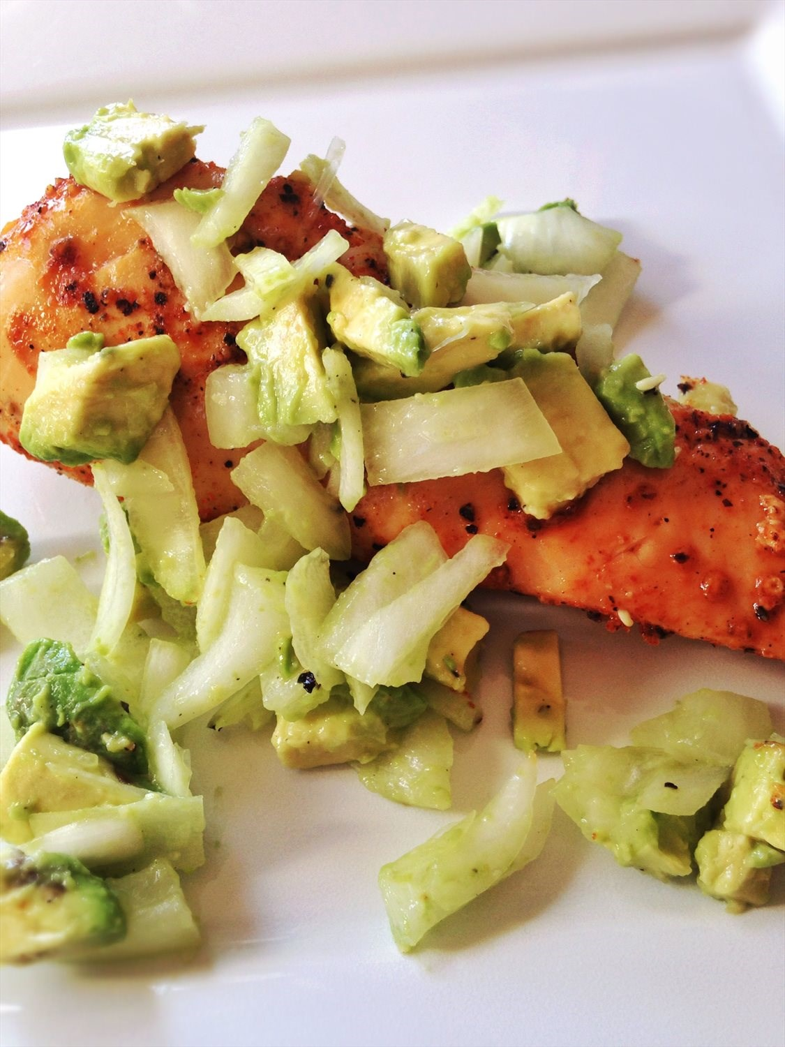 Spicy Avocado Chicken
