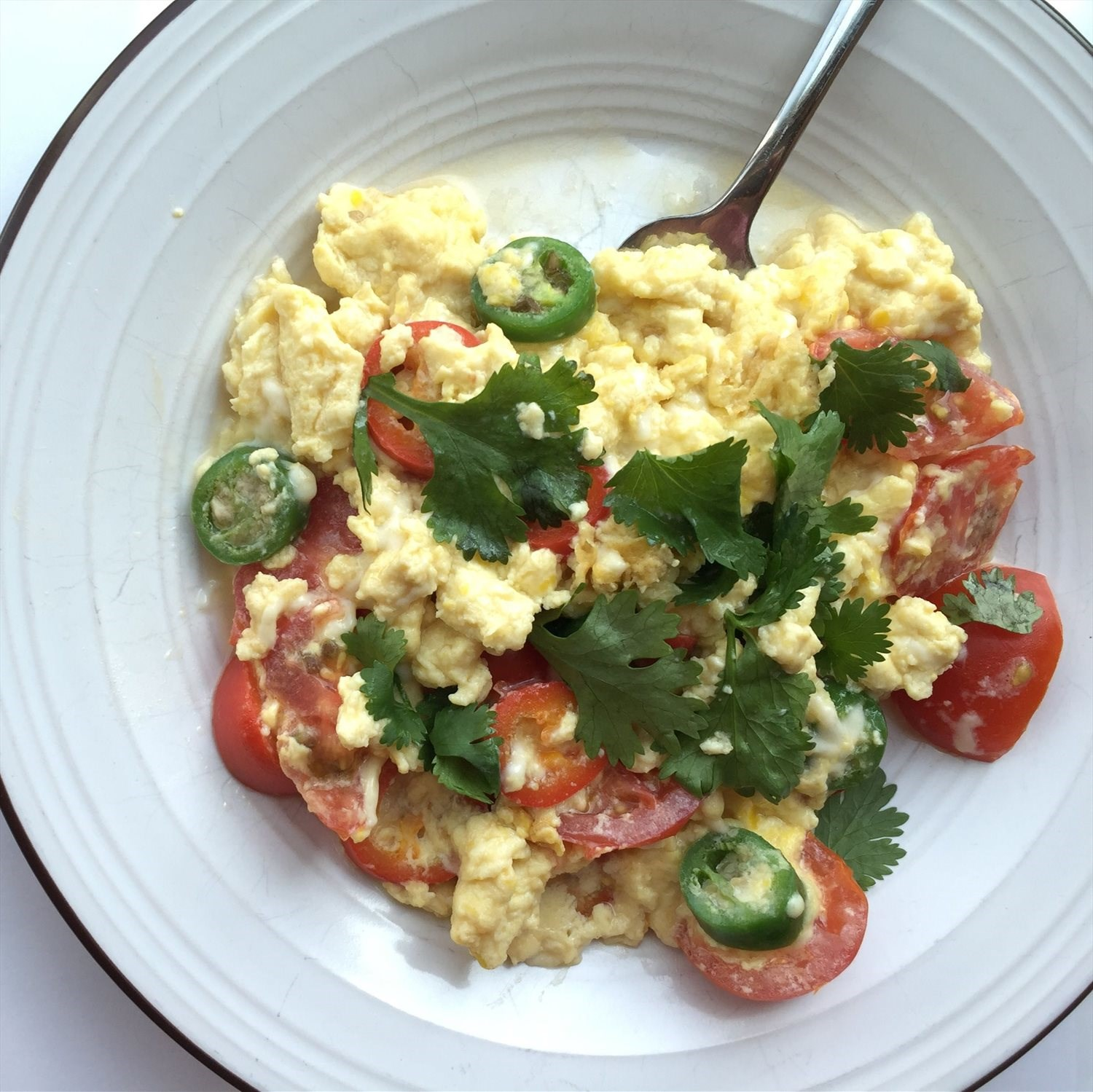 Tex-Mex Egg Scramble