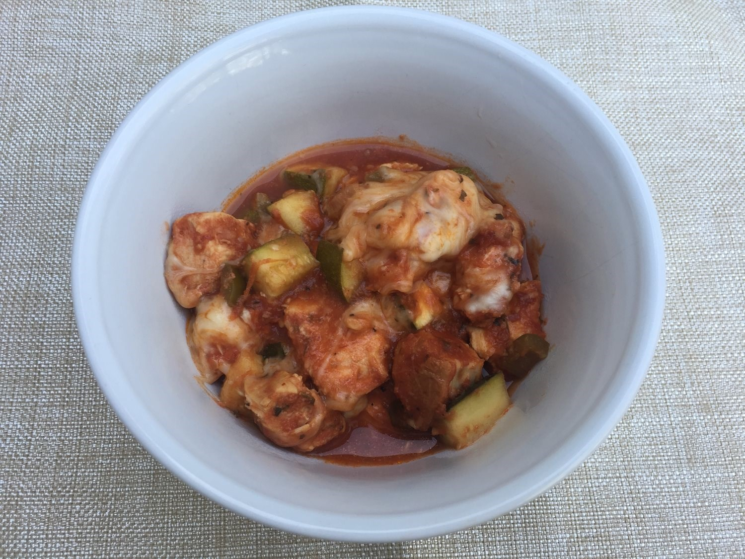 Crockpot Italian Chicken and Zucchini