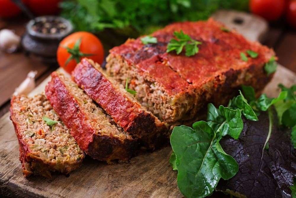 Zesty Beef and Veggie Meatloaf