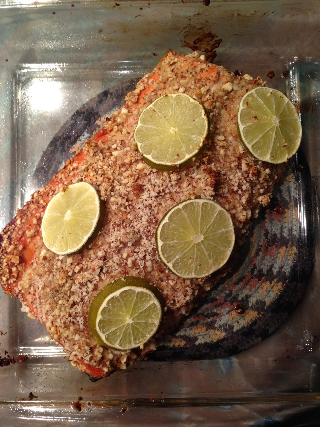 Almond Crusted Salmon