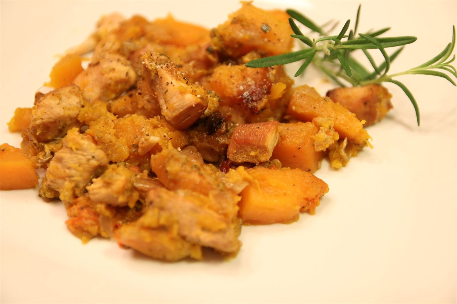 Crockpot Chicken with Butternut Squash