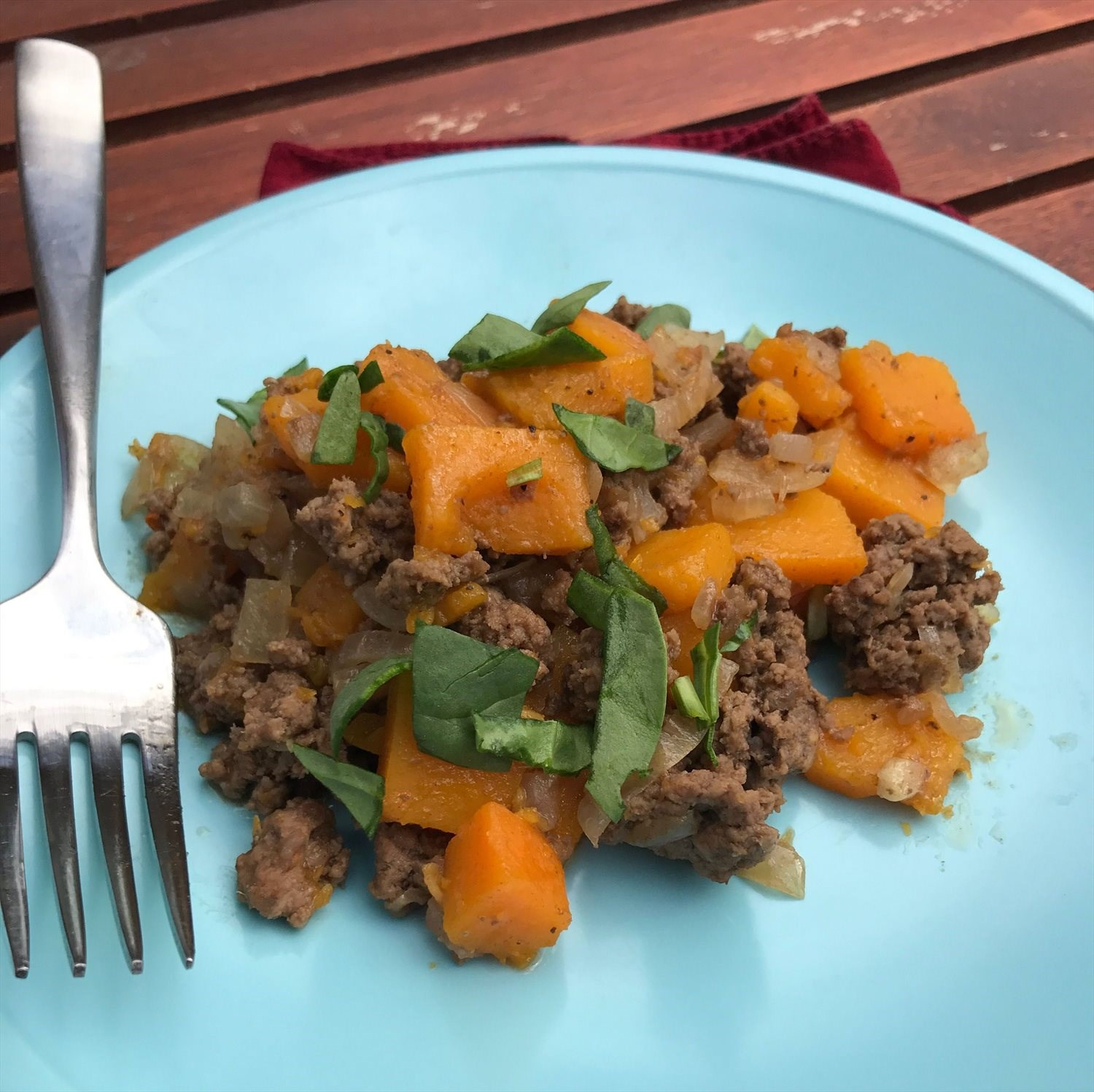 Spicy Beef and Butternut Squash