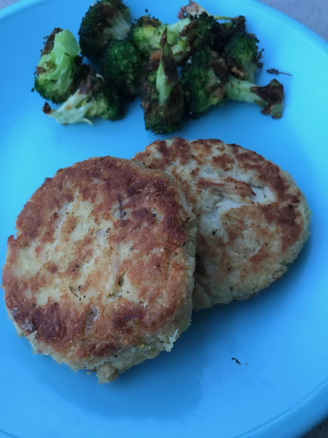 Lemon Tuna Patties