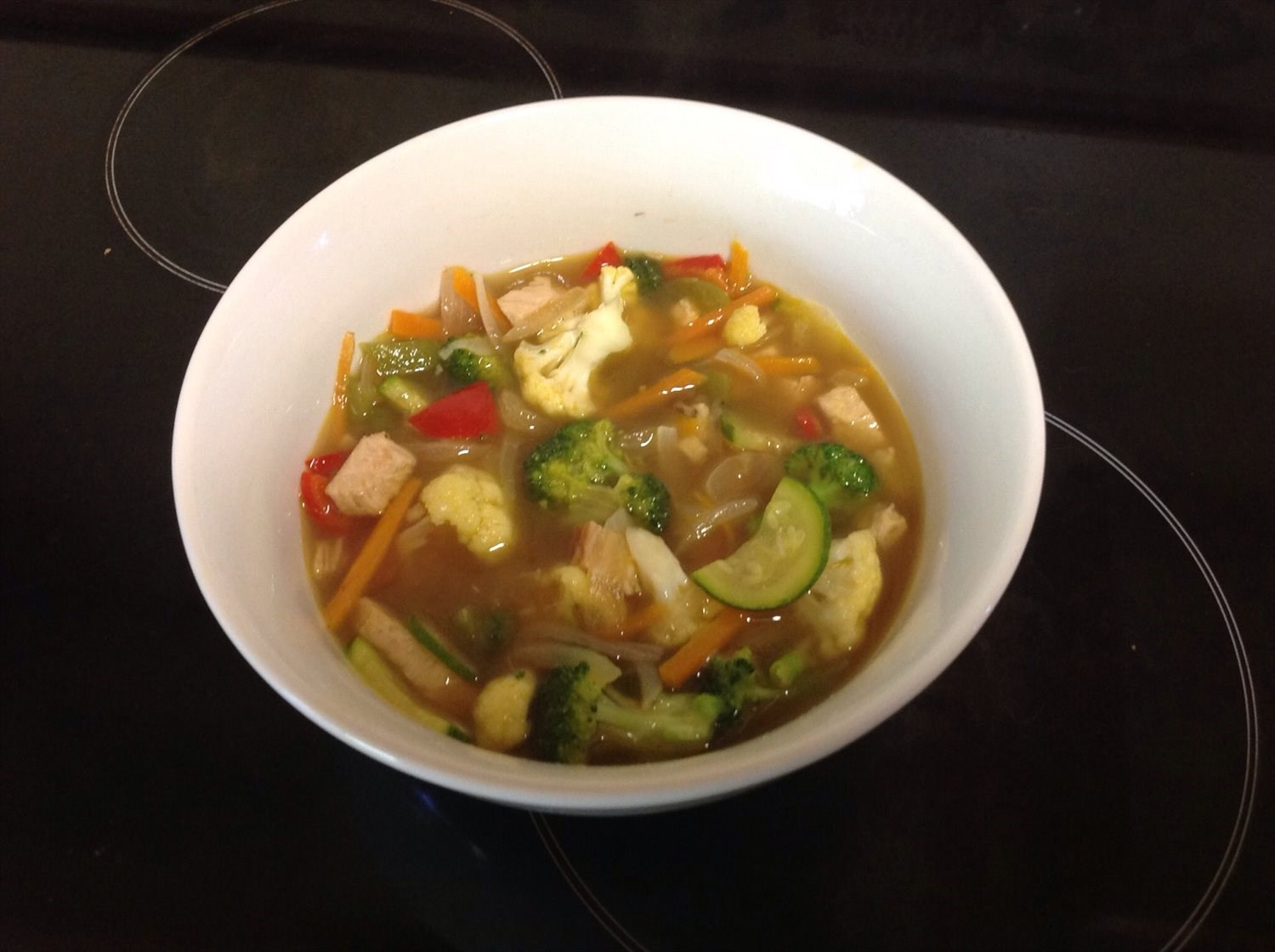 Chicken and Vege soup