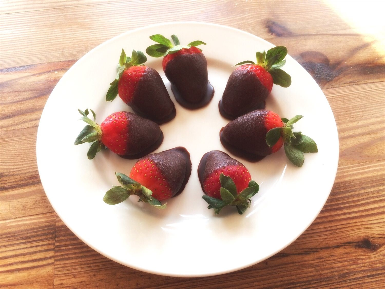 Homemade Chocolate Covered Strawberries