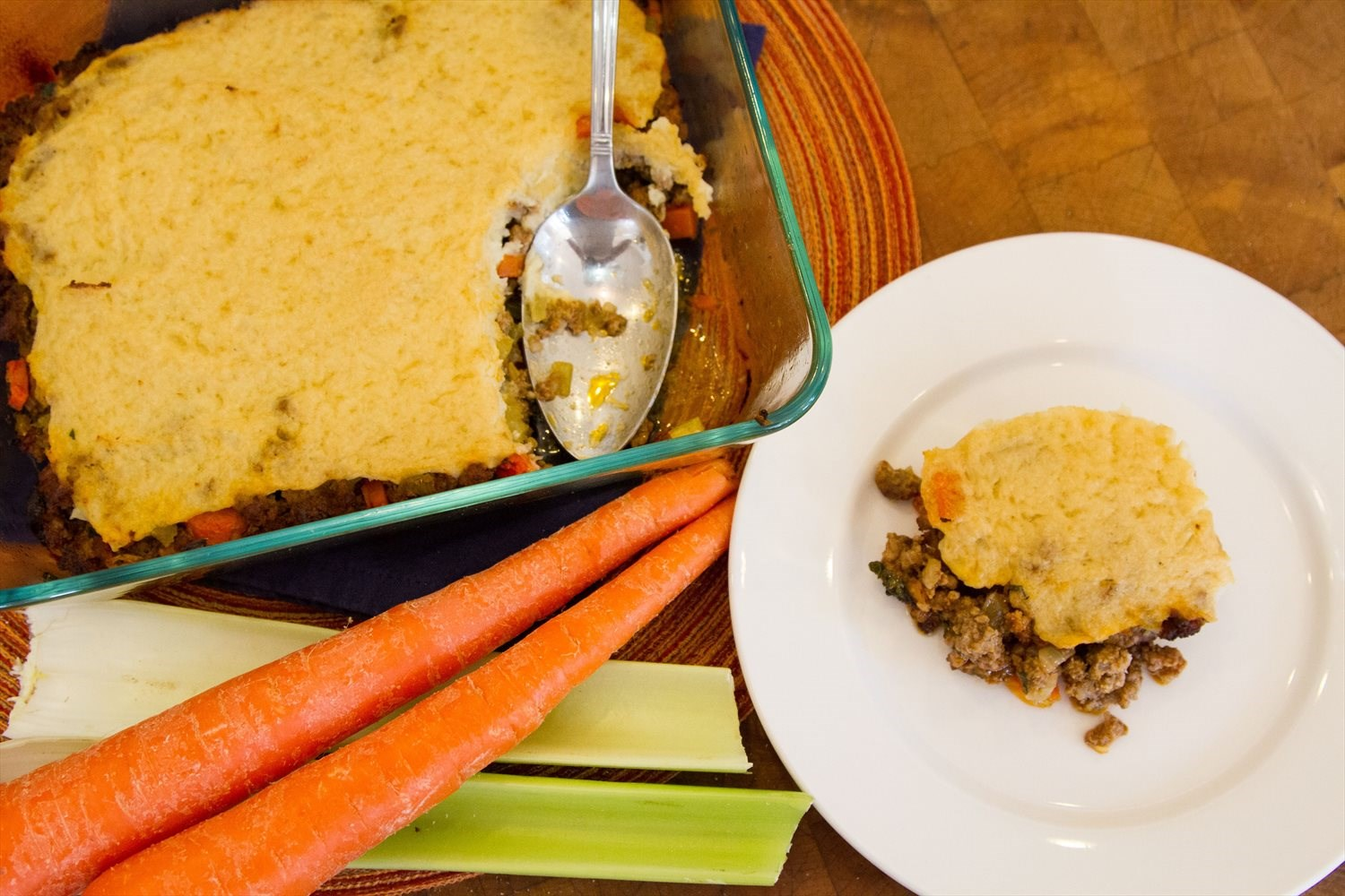 Shepherd's Pie with Mashed Cauliflower