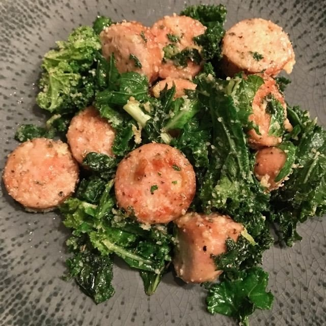 Italian Sausage and Kale Stir Fry