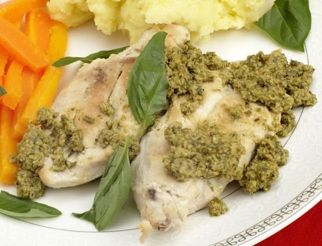 Lemon Pesto Chicken