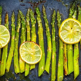 Asparagus Amandine | Beyond Diet Recipes