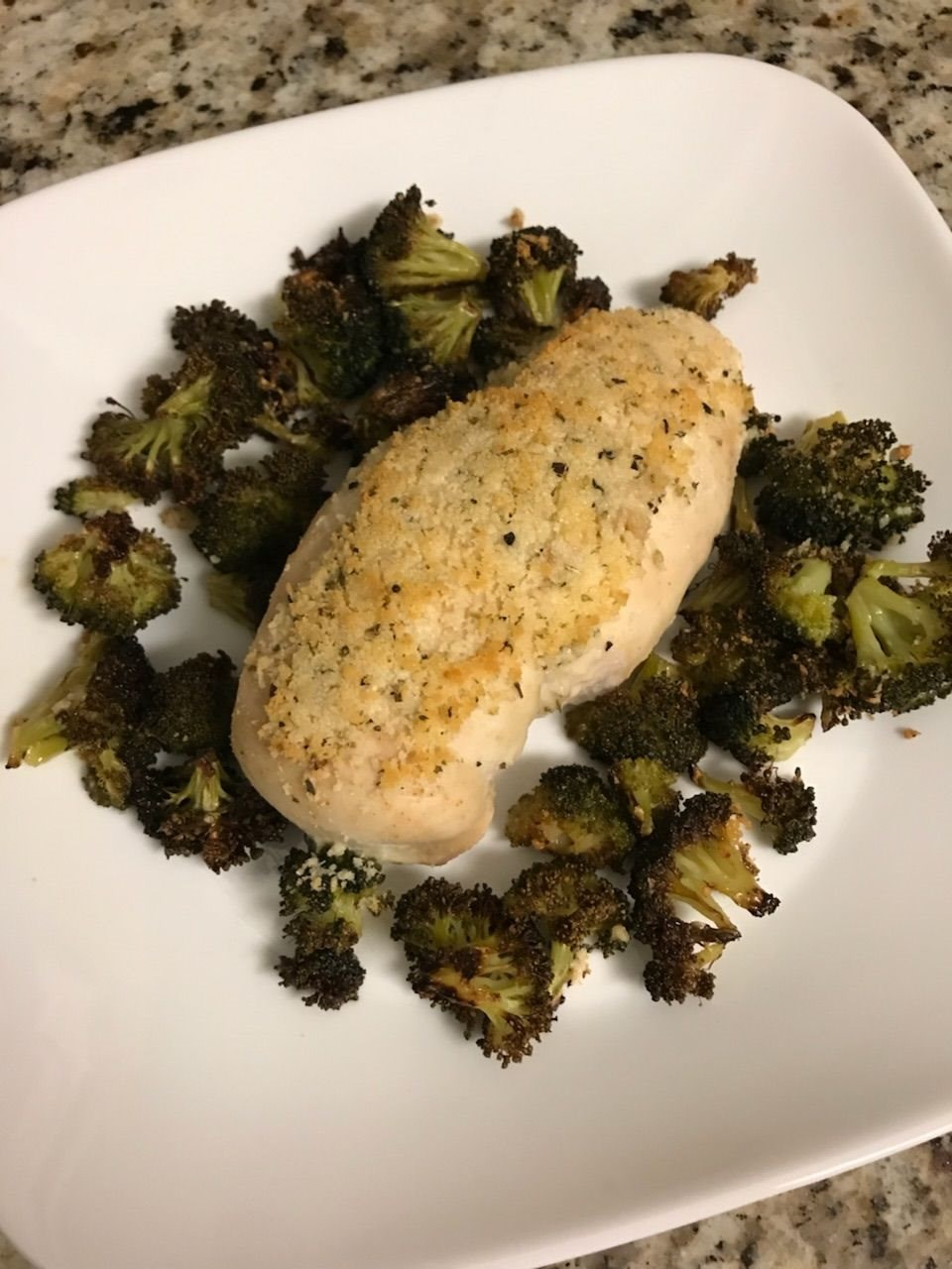 Parmesan Chicken and Broccoli
